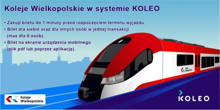 KOLEO – nowy kanał sprzedaży biletów