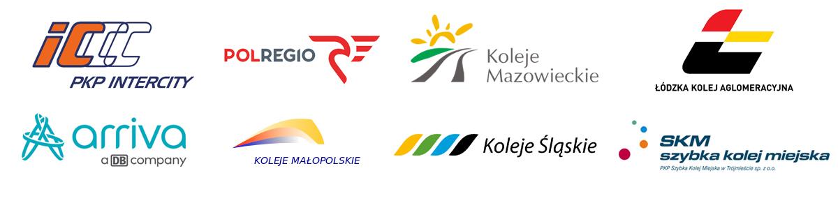 przejazdy pociągami największych polskich przewoźników