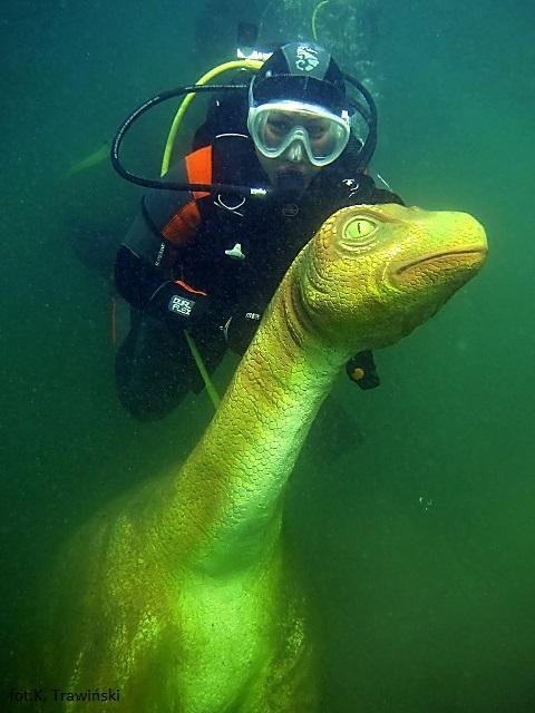 Podwodny Park Jurajski w Pile
