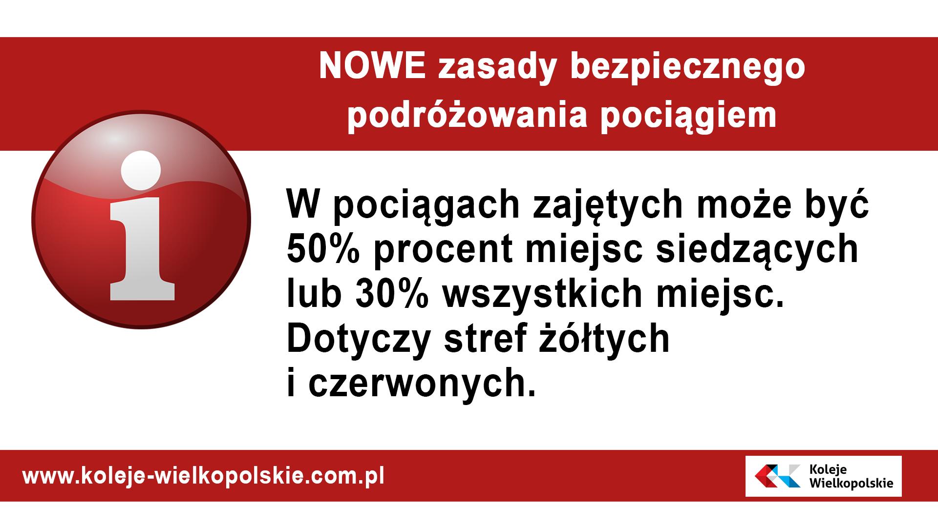 Nowe zasady bezpieczeństwa obowiązujące od 17 października 2020 r.