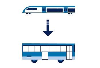 Zastępcza komunikacja autobusowa na odcinku linii Poznań – Wolsztyn