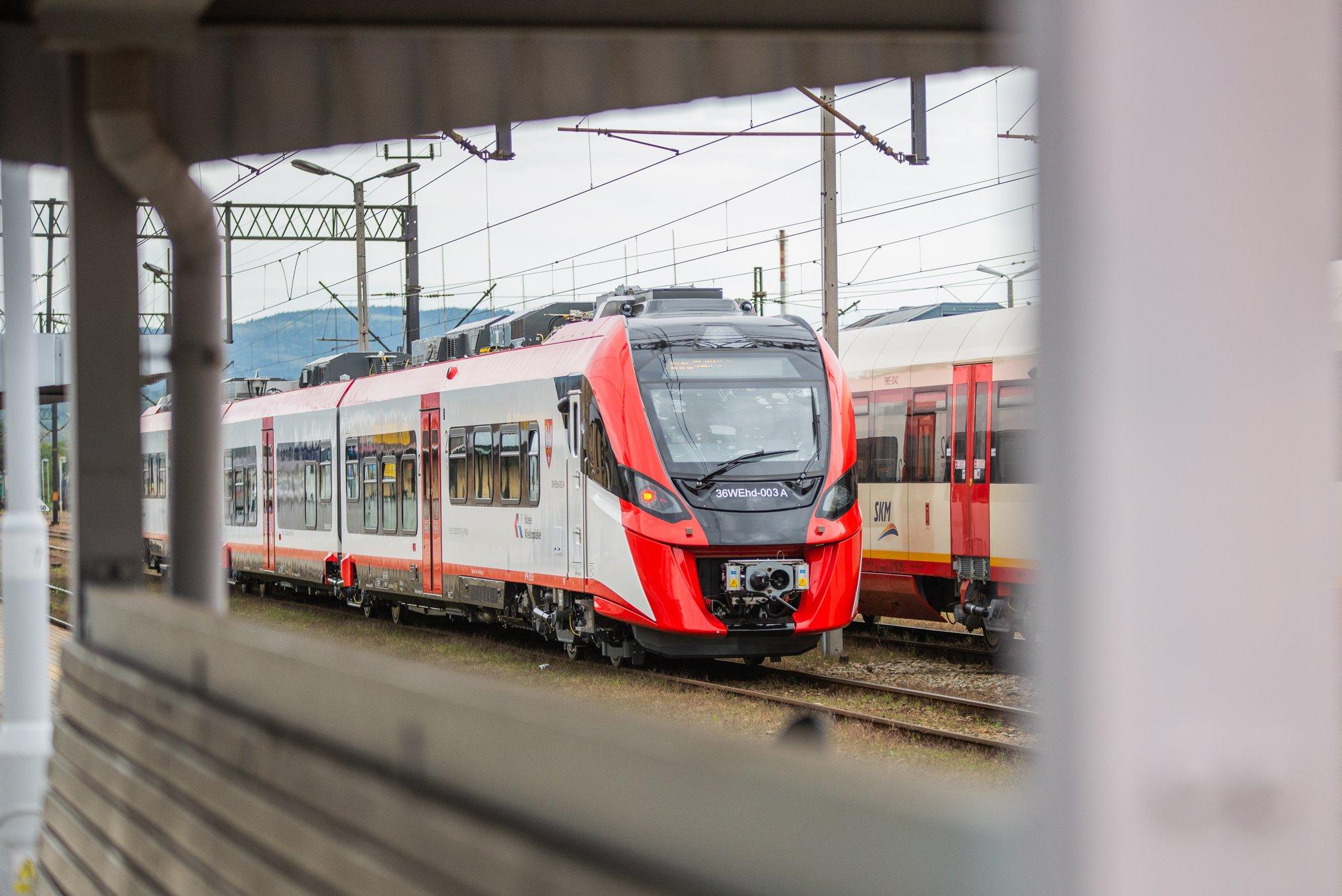 Zdjęcie pociągu typu 36WEhd