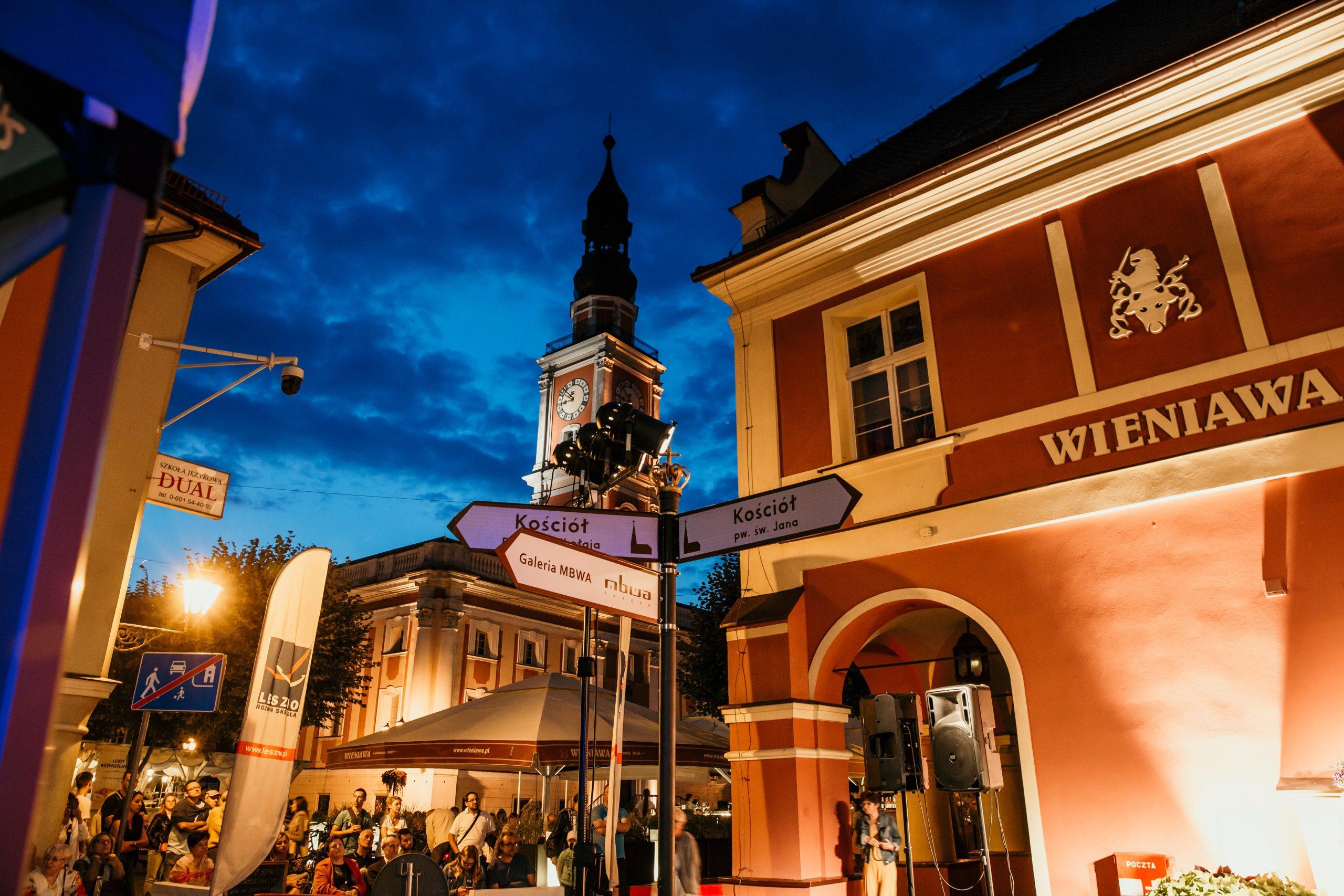 Rynek w Lesznie
