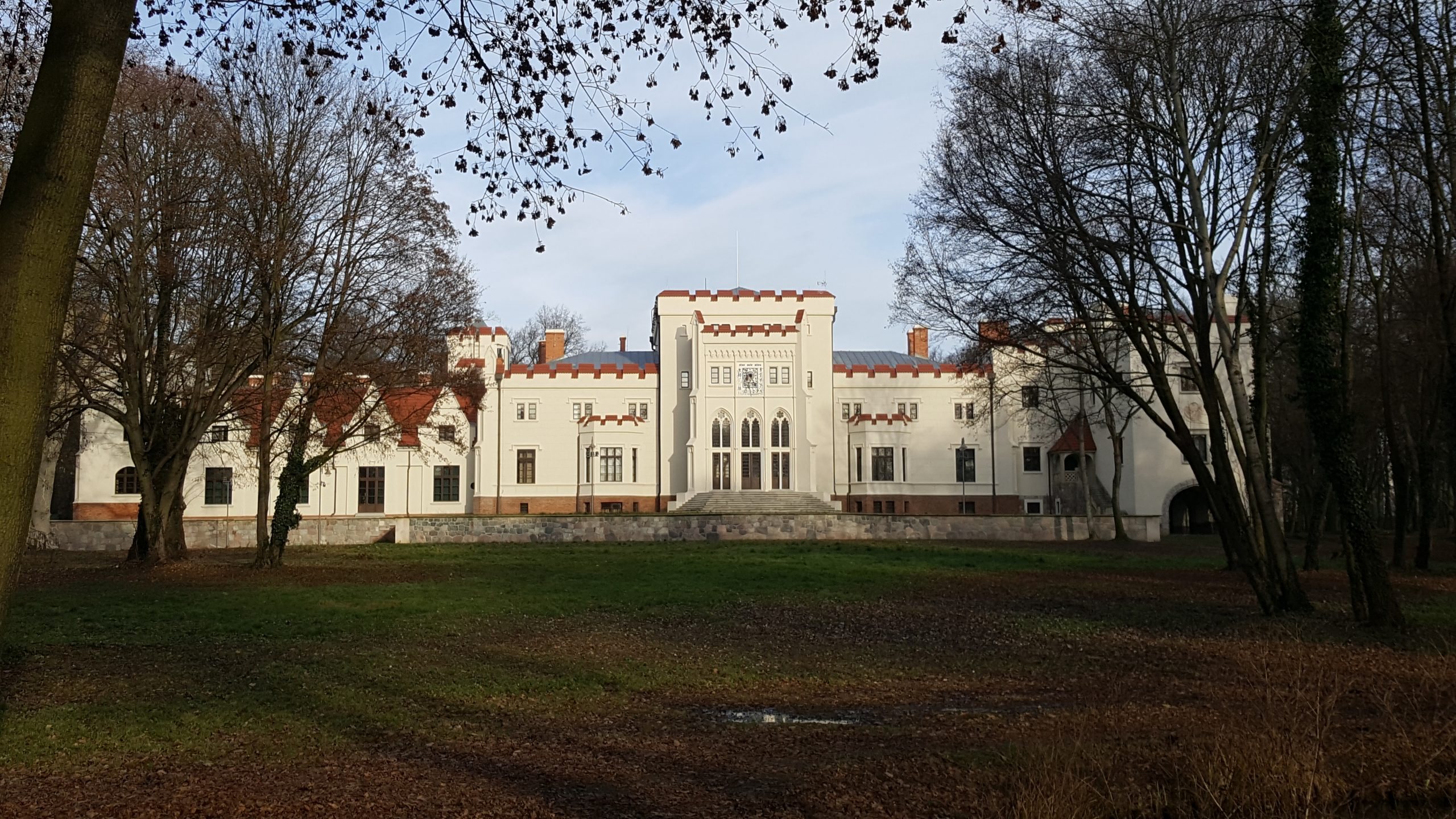 Jarocin - pałac Radolińskich