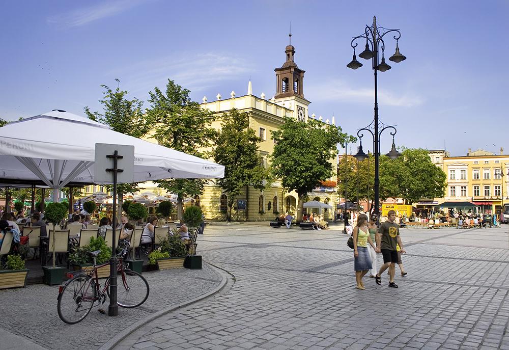 Rynek w Ostrowie Wlkp.
