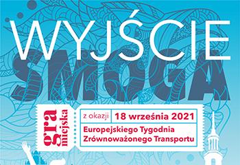 Gra miejska z okazji Europejskiego Tygodnia Zrównoważonego Transportu